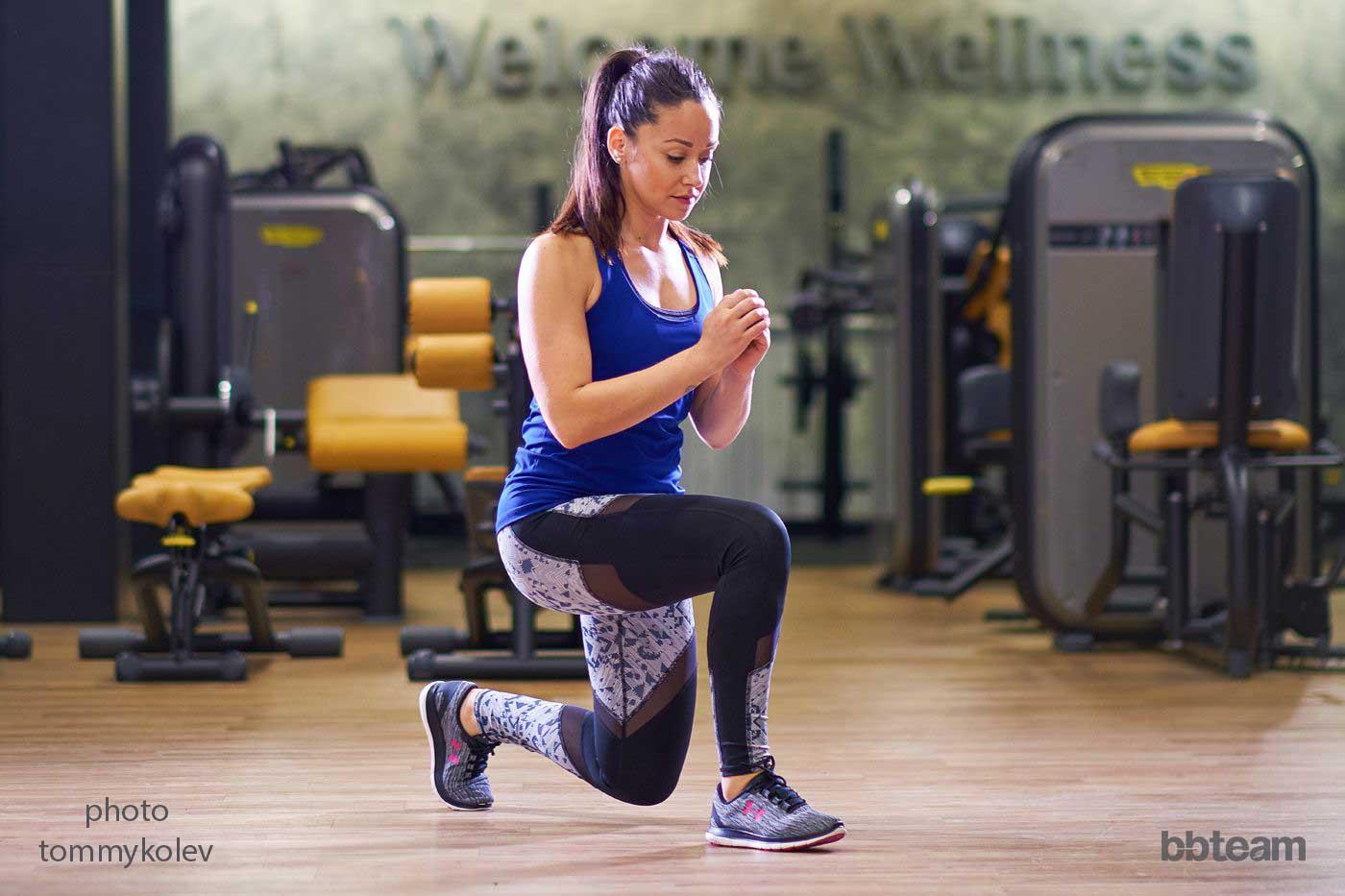 Напади със собствено тегло и с дъмбели