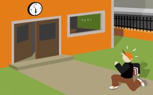 Фитнес при разкъсани учебни занятия