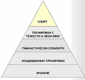 Пирамида на развитието на атлета