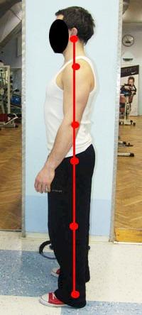 Линия на симетрията на човешкото тяло