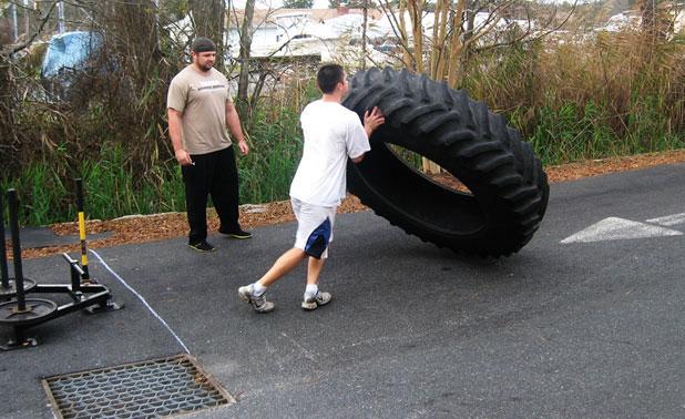 Обръщане на гума