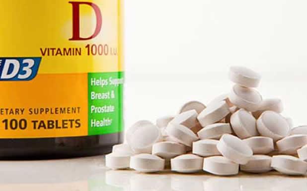 Едногодишен експеримент с витамин D