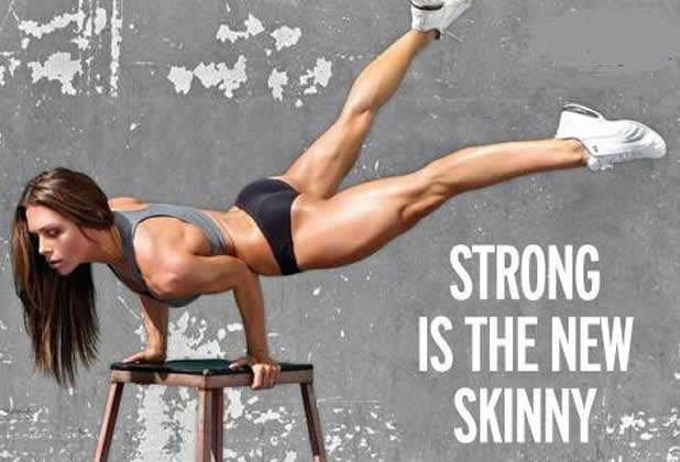 """Strong is the new skinny"""