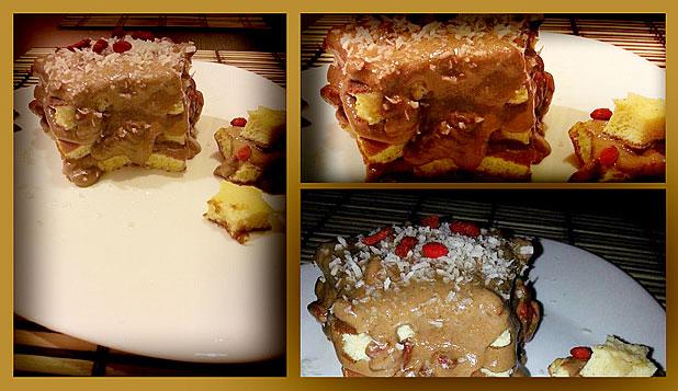 Малка торта за големи гладници