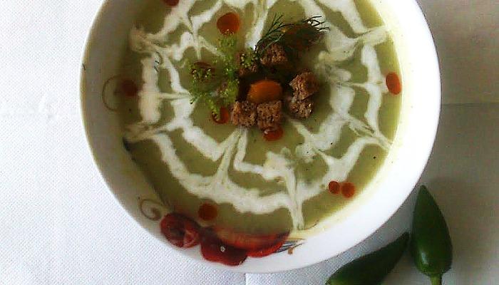 Крем супа от зелени тиквички