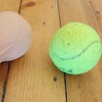 Как да си направим двойна топка за самомасаж?