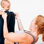 Тренировки за стягане след раждане със секцио