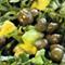 Свежа салата от спанак и авокадо
