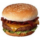 Burger king сандвич Bacon Cheeseburger