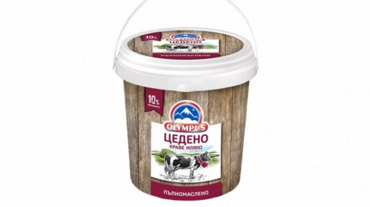 Цедено краве мляко olympus