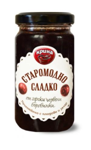 Крина Сладко, боровинки