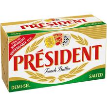 President Масло
