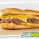 Subway сандвич с стек, яйце и чедър