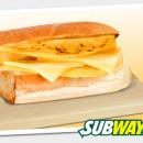 Subway сандвич с яйце и чедър