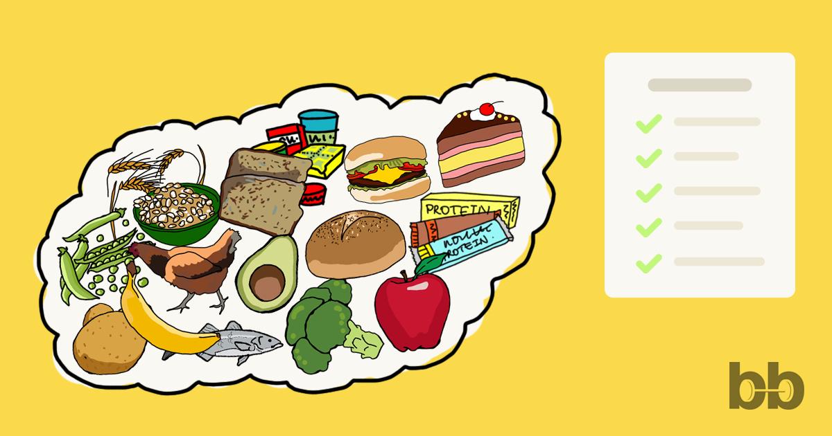 Състав на храни