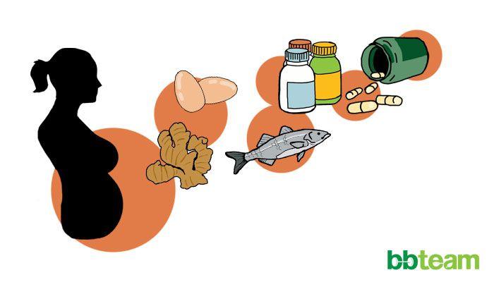 Какви храни и добавки трябва да се приемат от бременни жени?