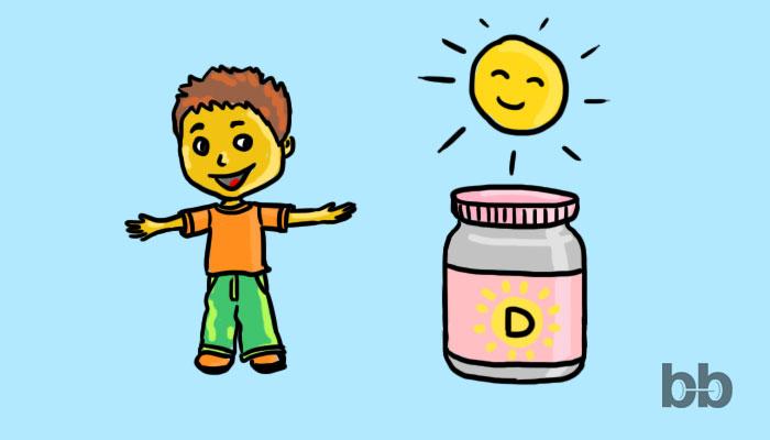 Имат ли нужда децата от Витамин D?
