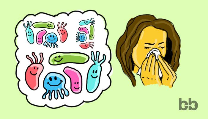 Пробиотиците и сезонните алергии