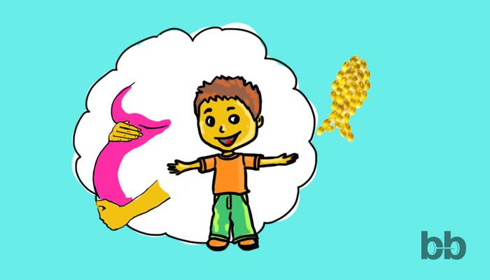 Връзката между омега-3 и растежа на децата