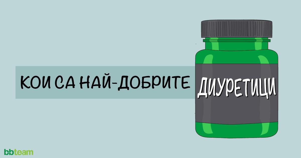 Кои са най-добрите диуретици?