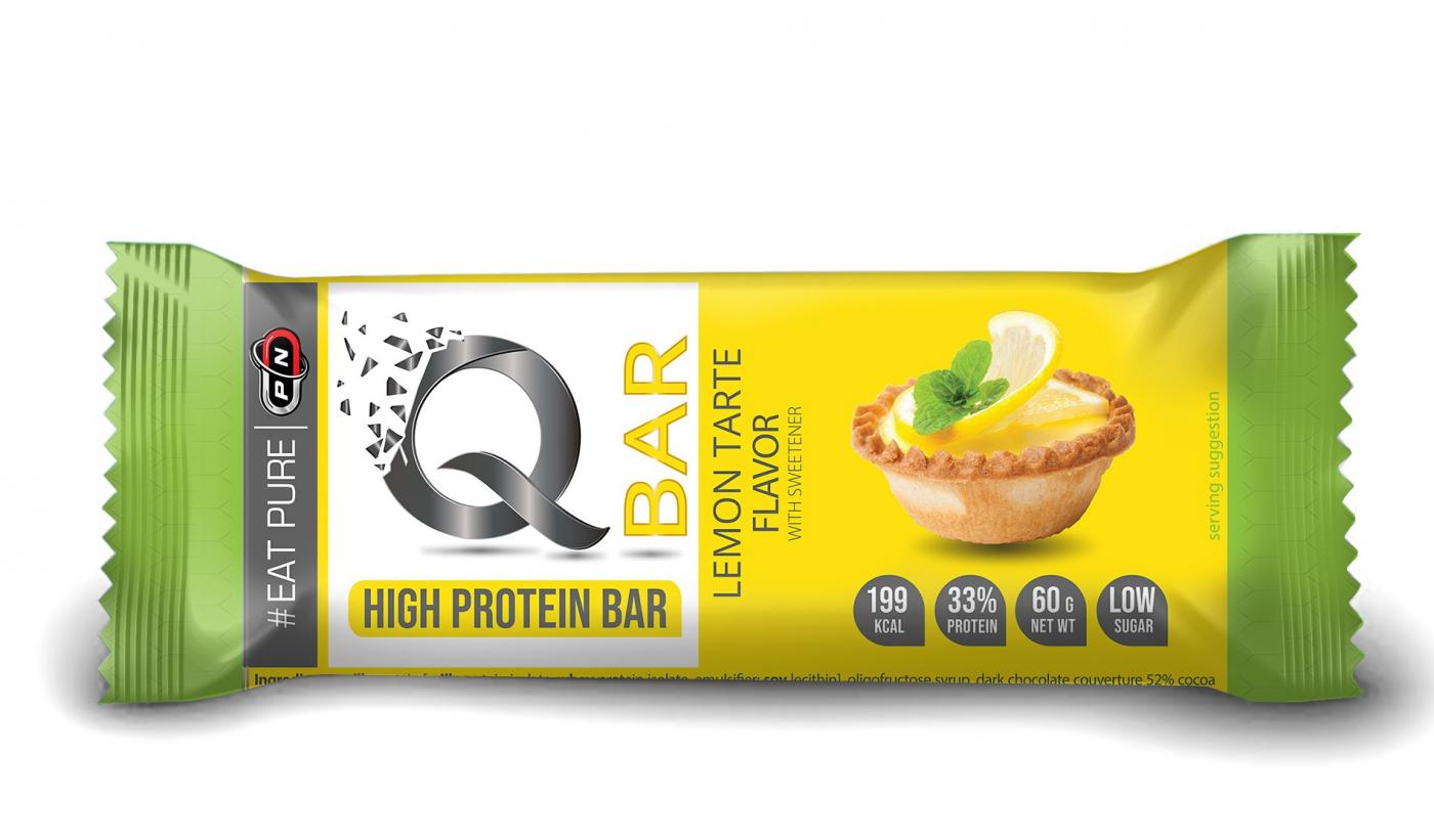 Q - BAR - нов страхотен десерт от Pure Nutrition!