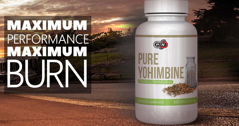 100% Pure Yohimbine от Pure Nutrition