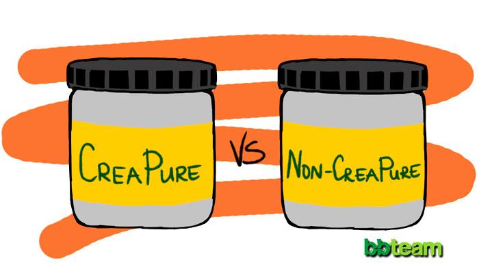 CreaPure vs Non-CreaPure
