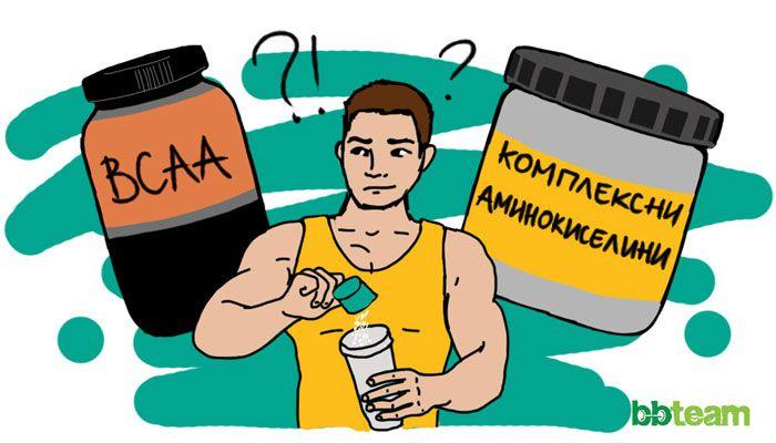 Как да комбинираме BCAA, левцин и комплексни аминокиселини?