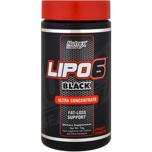 Nutrex Research Lipo-6 Black Powder Ultra Concentrate