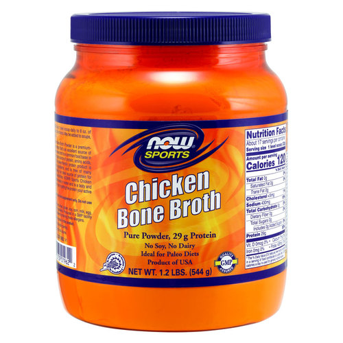 NOW Foods Chicken Protein Bone Broth