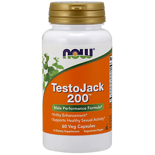 NOW Foods Testo Jack 200 Extra Strength