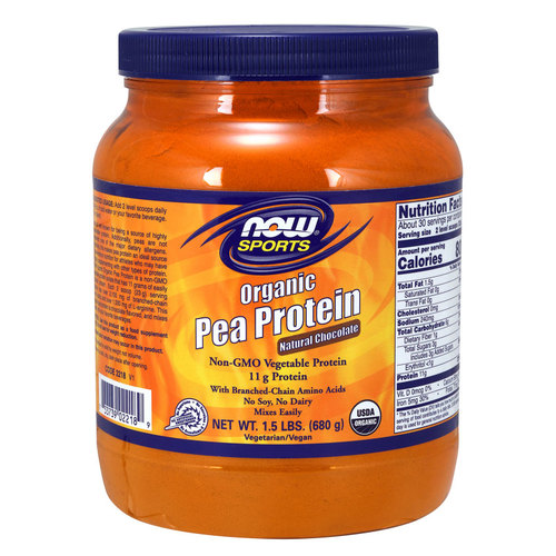 NOW Foods Organic Pea Protein