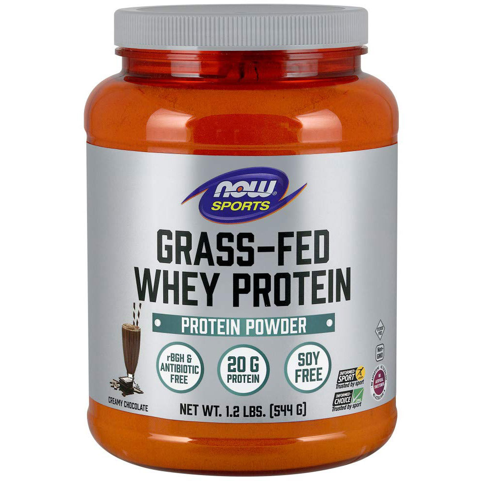 NOW Foods Grass-Fed Whey Protein