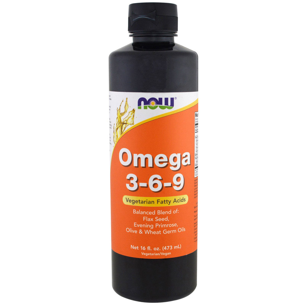 NOW Foods Omega 3-6-9 Liquid