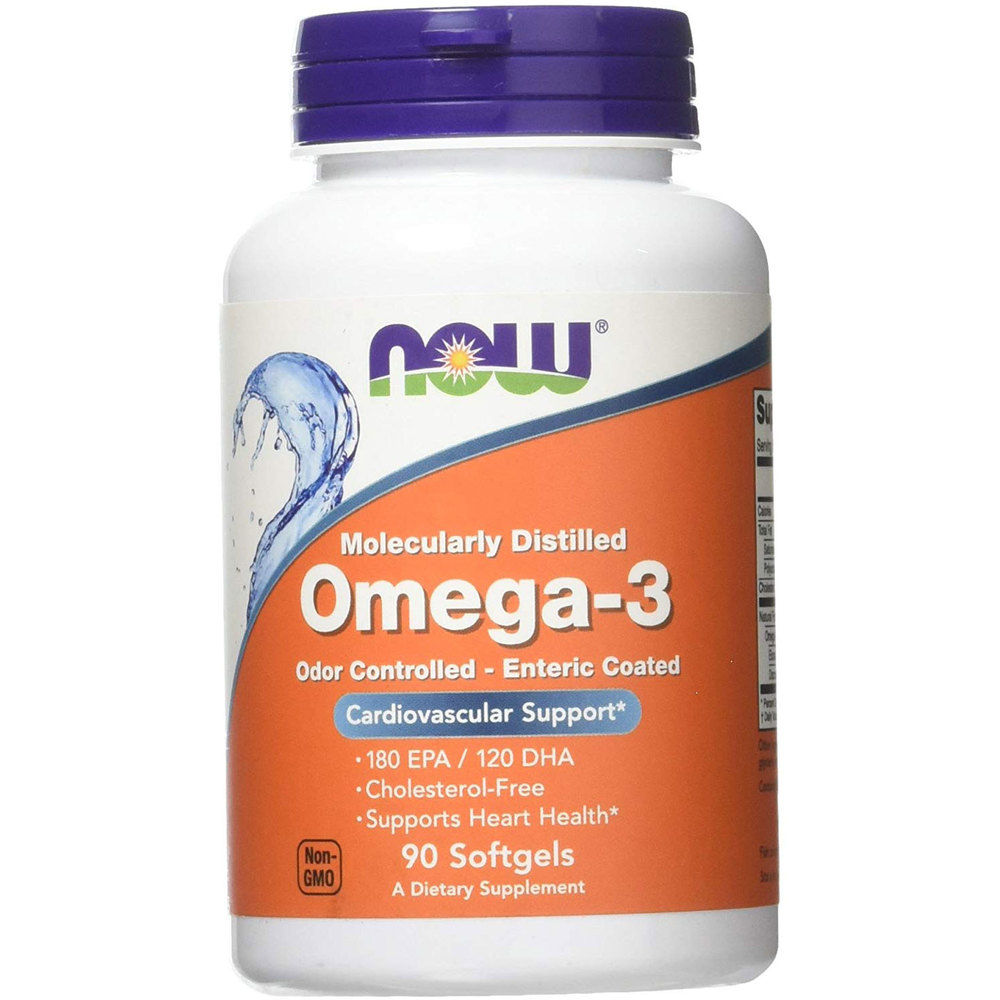 NOW Foods Omega-3 Enteric Coated