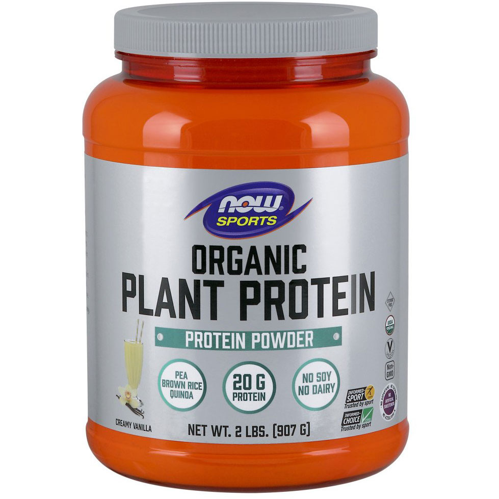 NOW Foods Organic Plant Protein