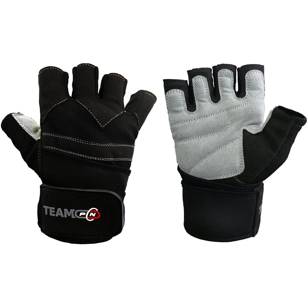 Pure Nutrition Мъжки ръкавици за фитнес Advanced с накитници