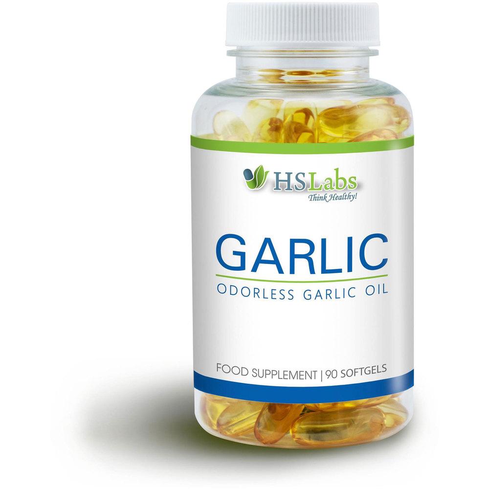 HS Labs Garlic Softgels