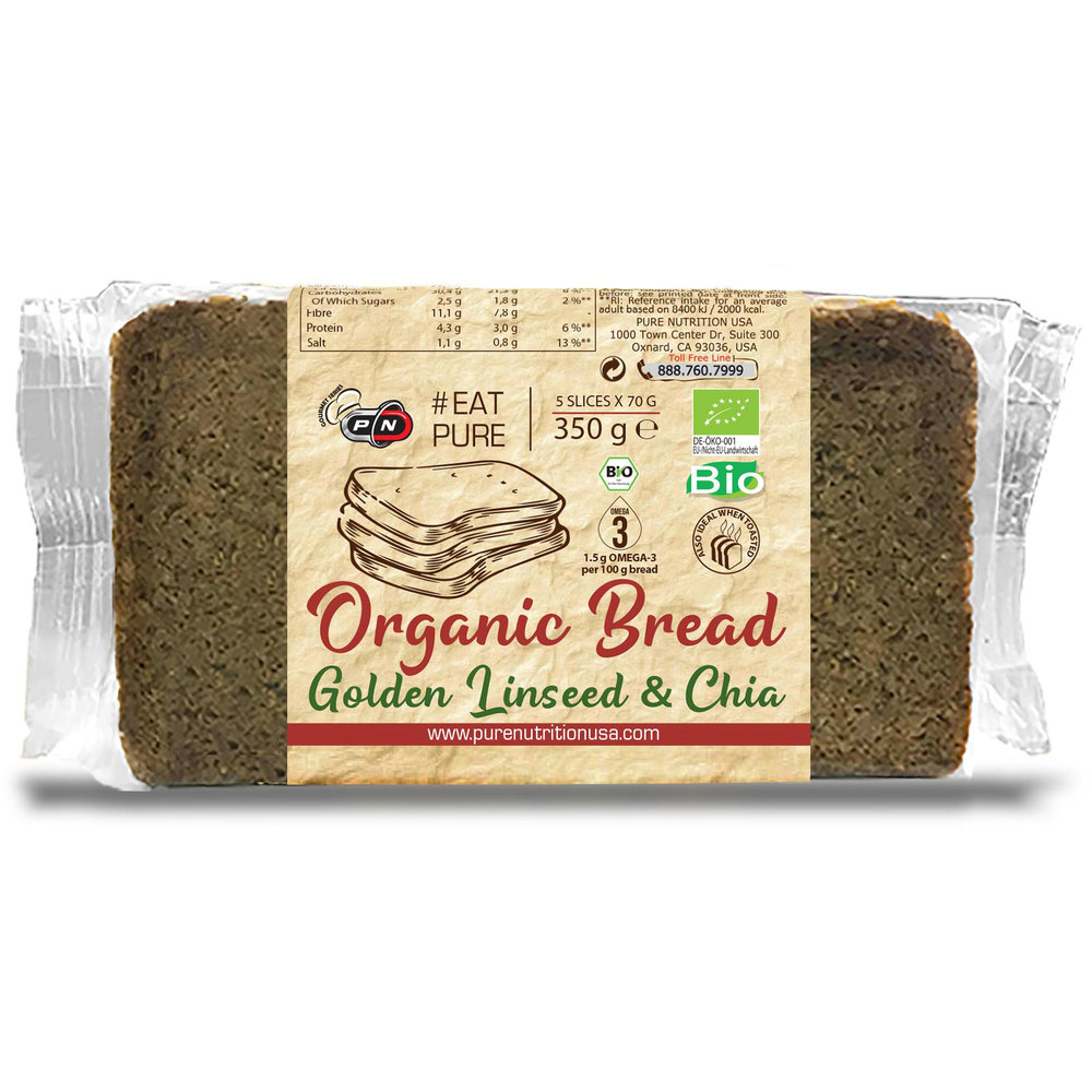 Pure Nutrition Organic Goldenseed and Chia Bread