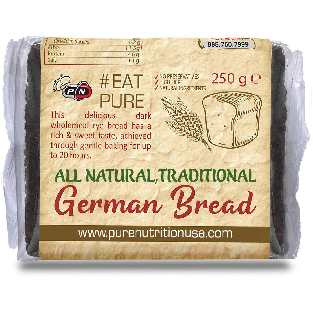 Pure Nutrition Traditional German Bread