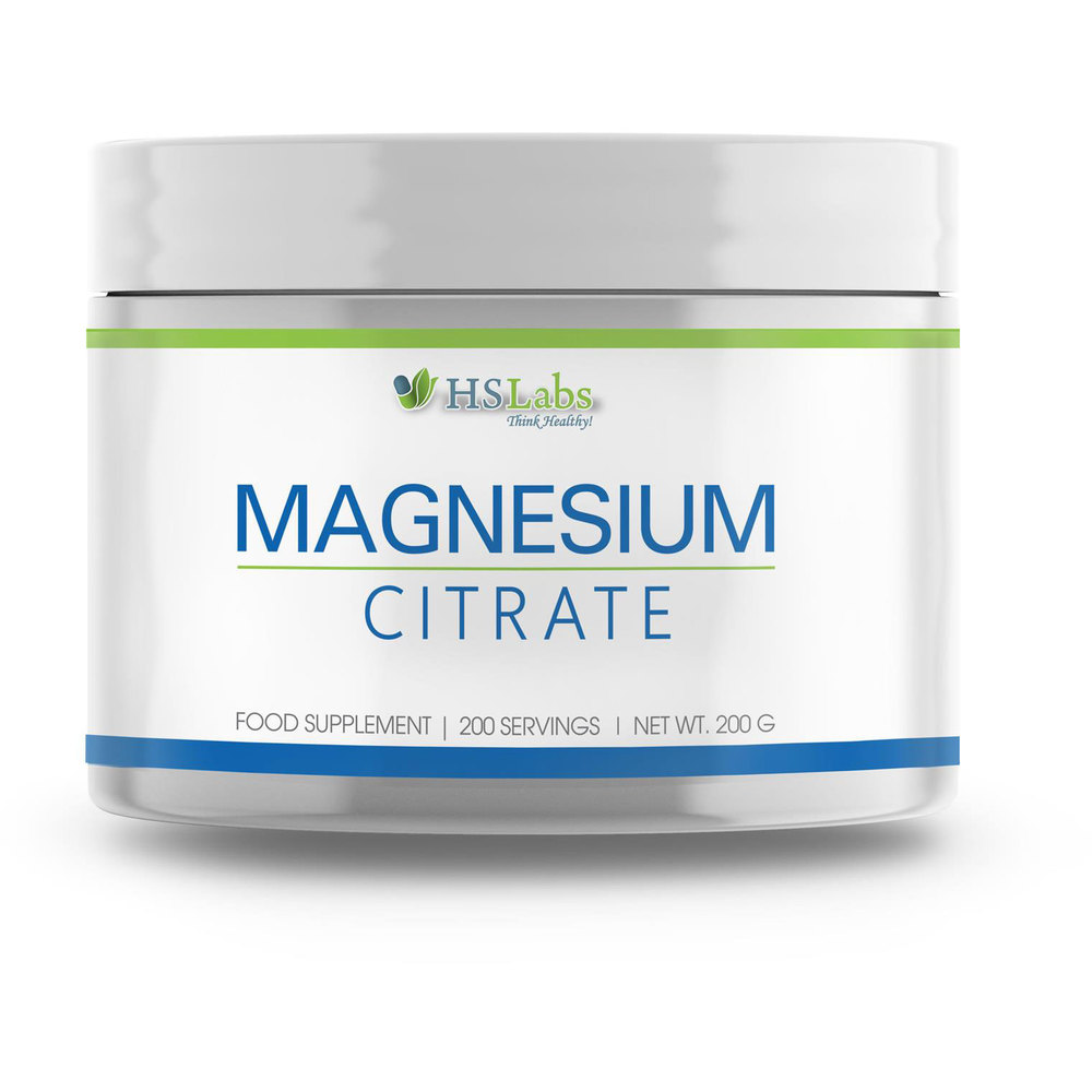 HS Labs Magnesium Citrate Powder