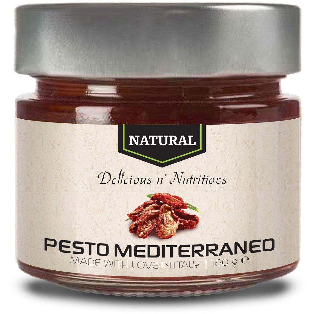 Delicious n Nutritious Natural Pesto Mediterraneo