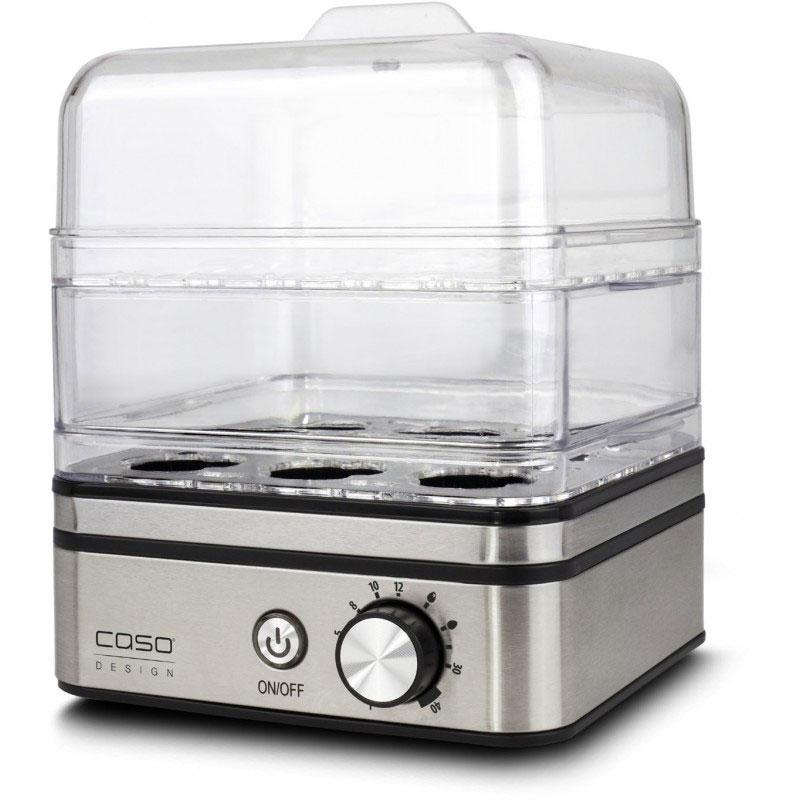 CASO Електрически яйцевар с приставка за готвене на пара ED10