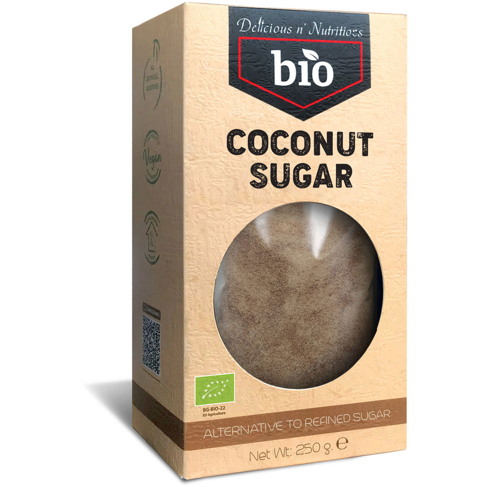 Delicious n Nutritious Био кокосова захар