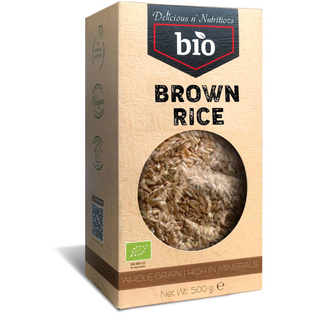 Delicious n Nutritious Био кафяв ориз