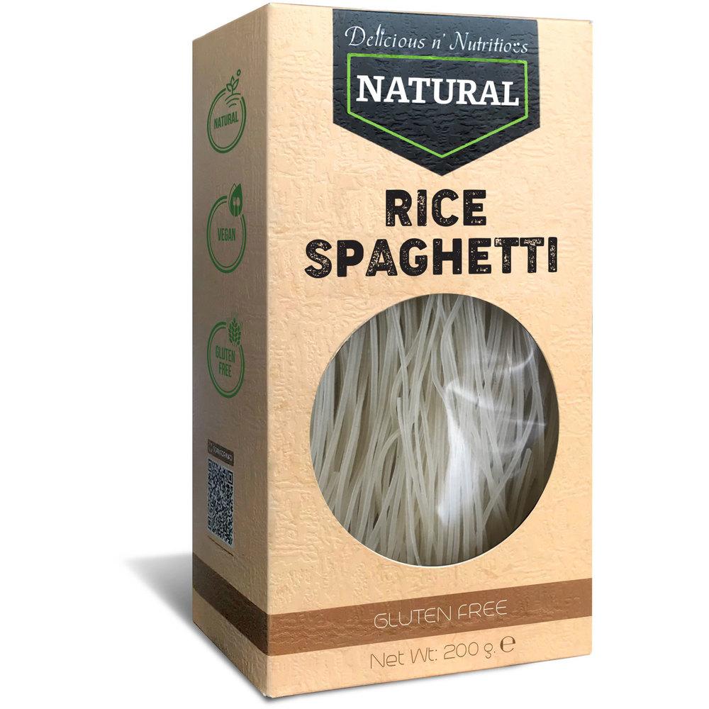 Delicious n Nutritious Натурални оризови спагети