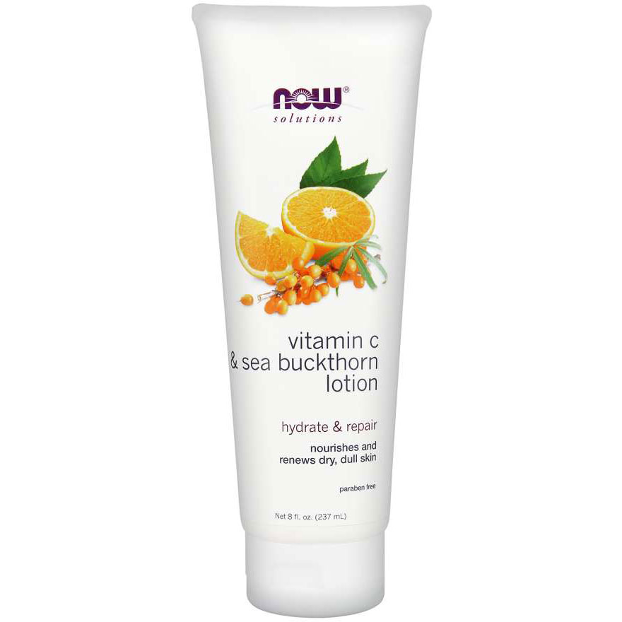 NOW Foods Vitamin C and Sea Buckthorn Body Lotion