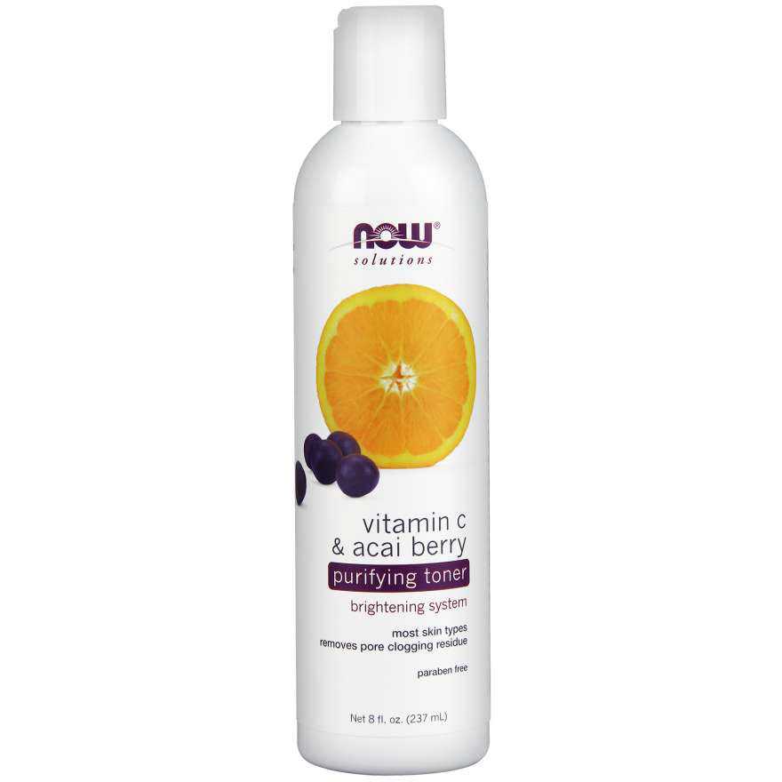 NOW Foods Vitamin C & Acai Toner