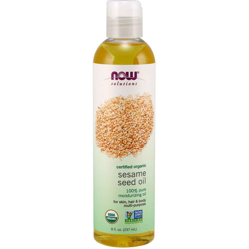 NOW Foods Sesame Seed Oil Organic