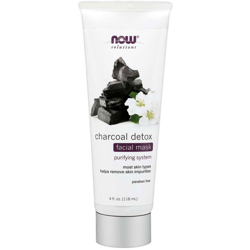 NOW Foods Charcoal Detox Mask